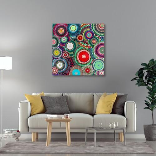 Canvas - Pohutukawa