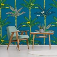 Palms – Dark Blue