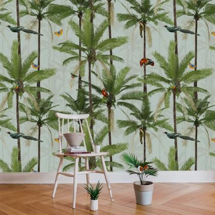 Crazy Palms Tropical birds