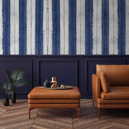 Tanaka – Blue Stripe