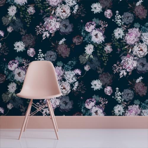 Dark Floral Vibrant